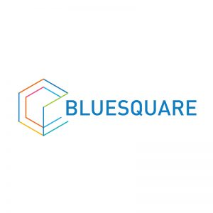 Logo of BlueSquare, technologic data systems and tools