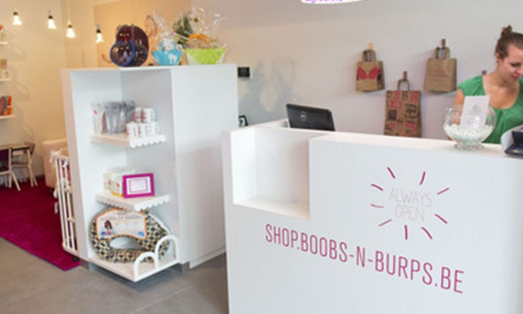 Picture of the inside of a B'n'B store for the homepage slider.