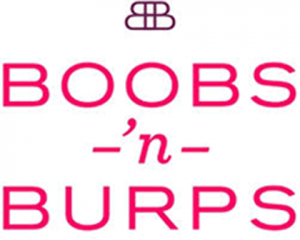 Boobs 'n Burps logo.