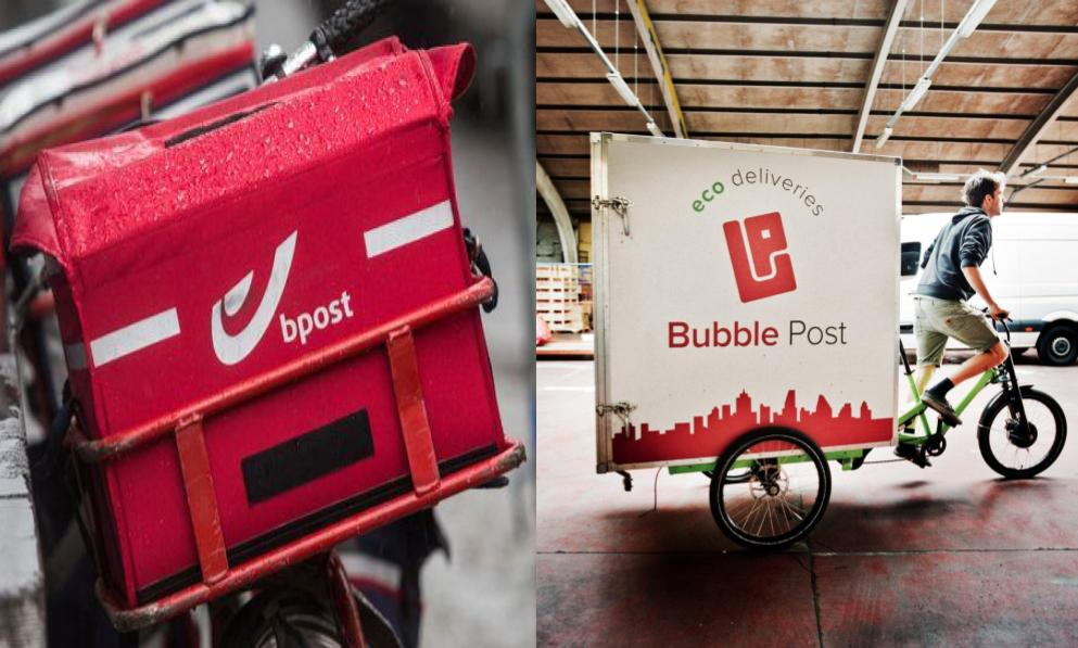 Bpost alongside bubble post